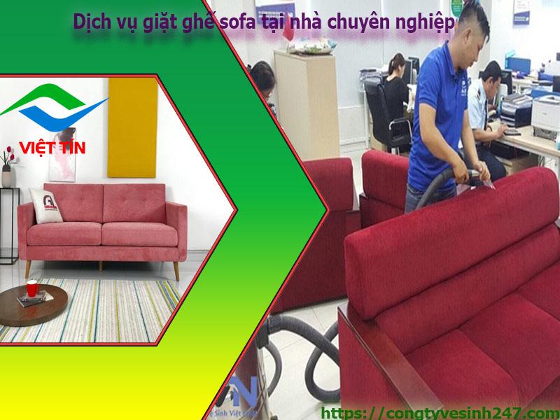 Giặt ghế sofa tại nhà chuyên nghiệp tại TPHCM có một không hai