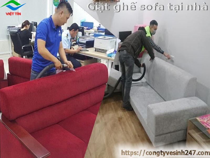 Quy trình giặt ghế sofa tại nhà giá rẻ nhất TP.Thủ Đức Hồ Chí Minh